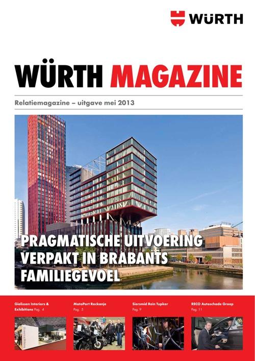 Würth klantenmagazine