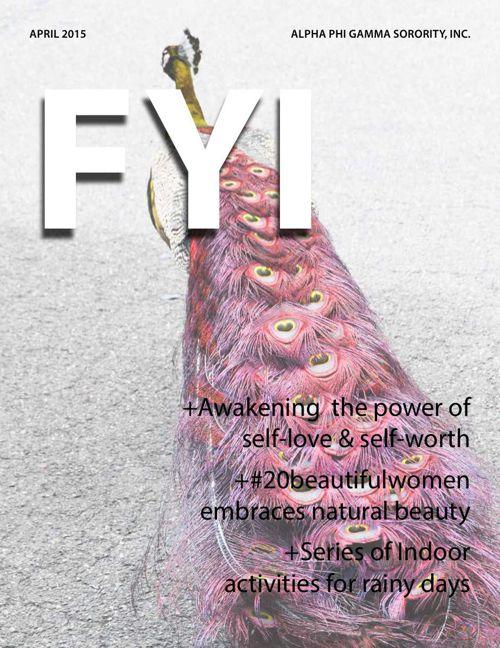The F.Y.I. Newsletter - April 2015