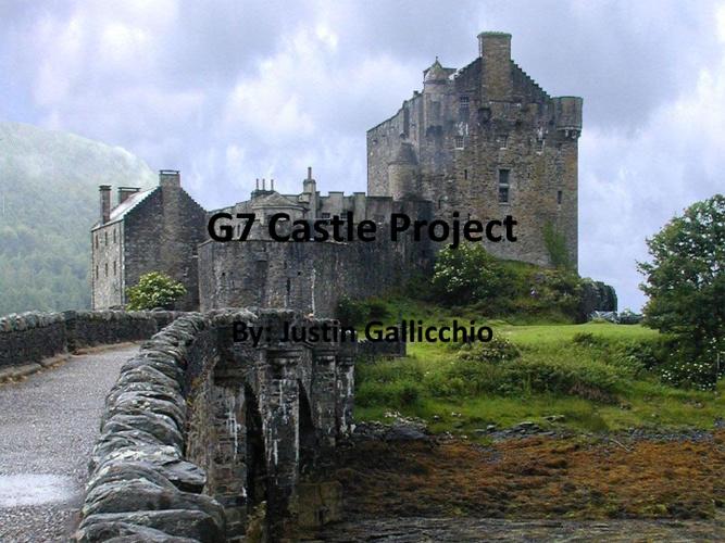 G7 Castle Justin Gallicchio