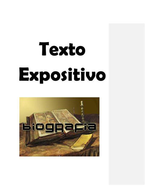 Estela 2°A Texto Expositivo (Biografia)