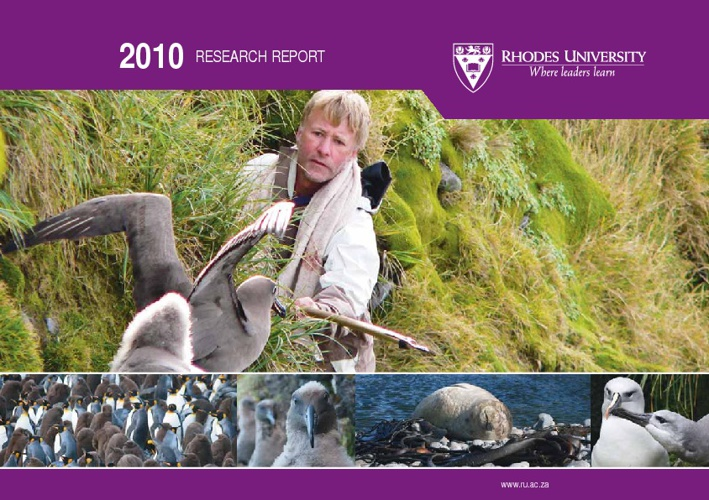 Annual Research Report 2010