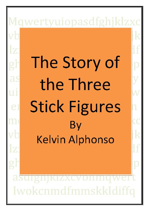 the story of the three stick figures good copy
