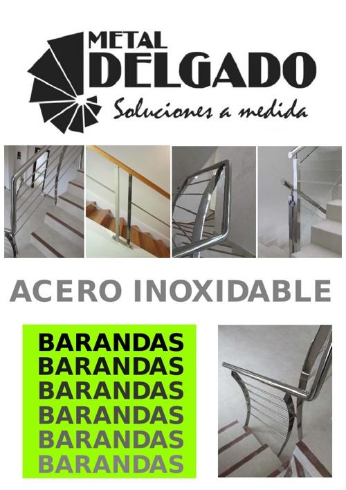Catálogo Barandas Inoxidable