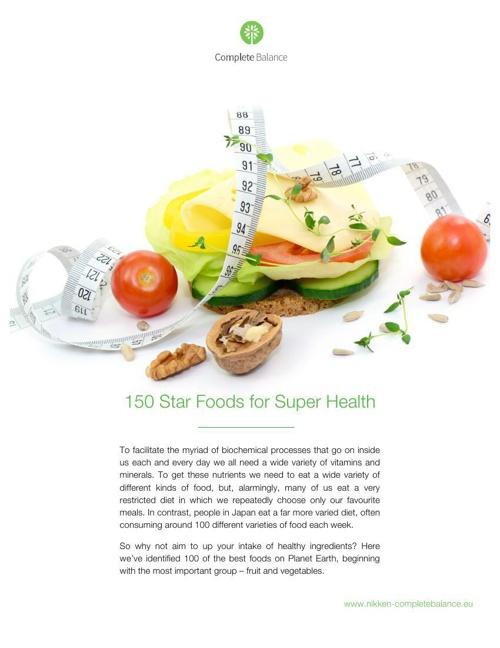 150 Star Foods for Super Health