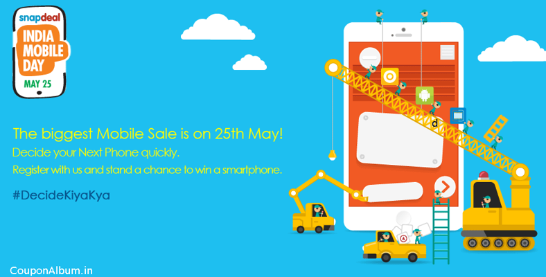 Snapdeal India Mobile Day – Biggest Mobile Sale!