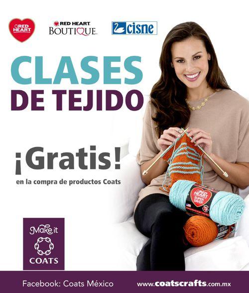 Clases Tejido Coats 2015