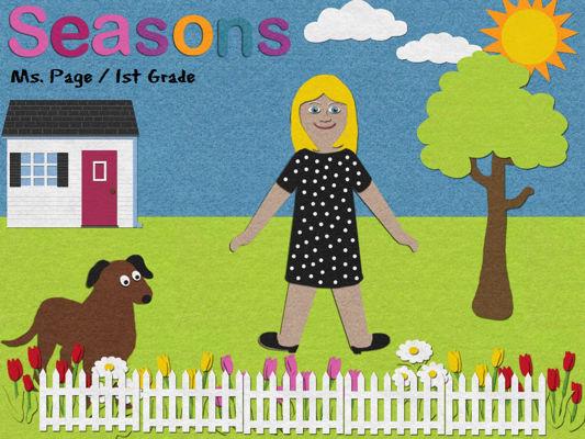 Page: Seasons / Feltboard App / Project