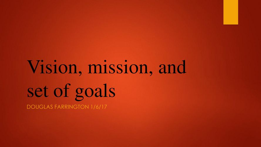 vision mission and goals of kfc Vision, mission and objectives of business s vision, mission and objectives if different organizations do not have differences in their vision and goals.