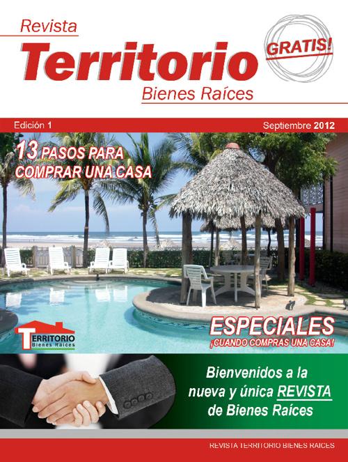 Edicion 1 - Septiembre Revista Territorio Bienes Raices