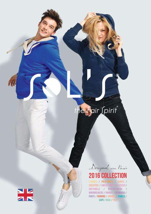 SOL'S catalogue 2016