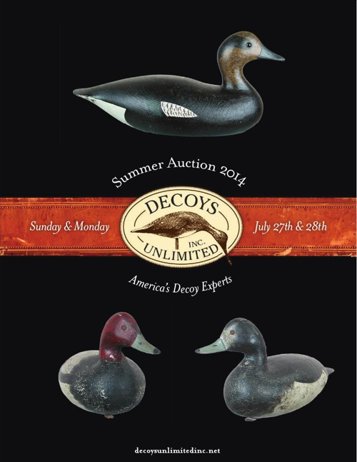 Decoys Unlimited 2014 Annual Summer Auction