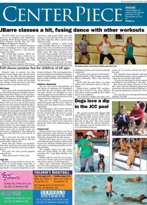 COMMUNITY | CENTERPIECE | September 23, 2013