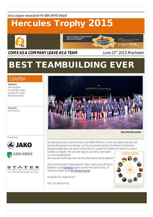Newsletter HT 2015