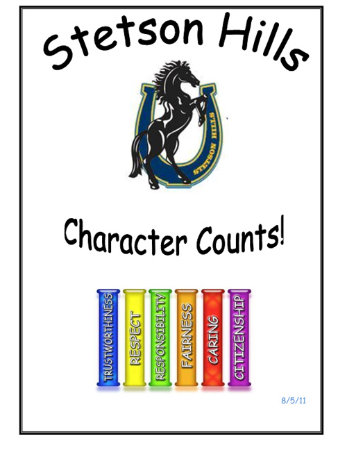 Character Counts Handbook 11-12