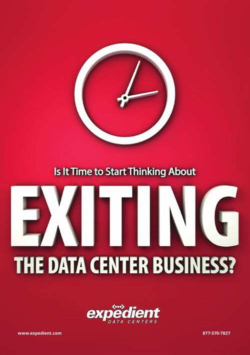 Is It Time to Start Thinking About Exiting the Data Center Busin