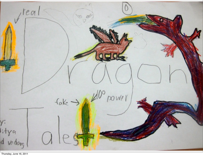 Dragon Tales by Aditya and Vedang