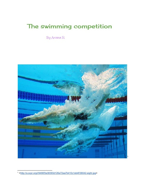 The Swimming Competition