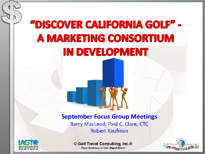 Discover California Golf Marketing Consortium_Presentation