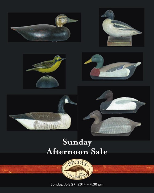 Sunday Afternoon Sale