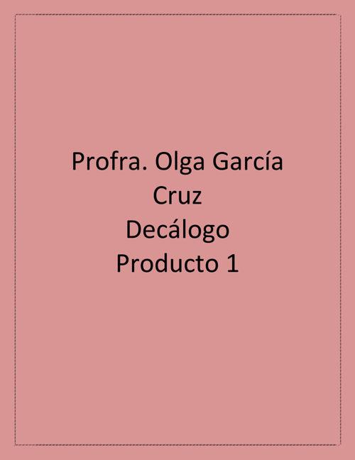 Decalogo producto 1
