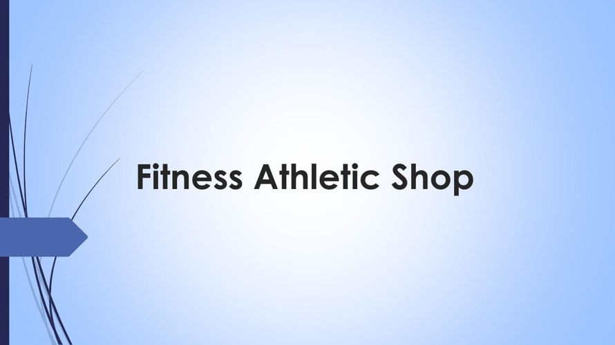 Fitness Athletic Shop