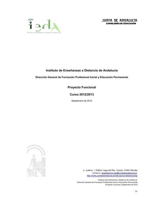 Proyecto funcional IEDA