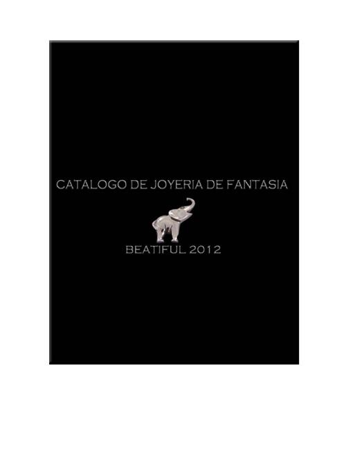 Catalogo de Joyeria de Fantasia Beatiful 2012