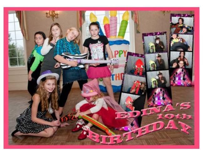 Edina's 10th Birthday PowerBomb Book
