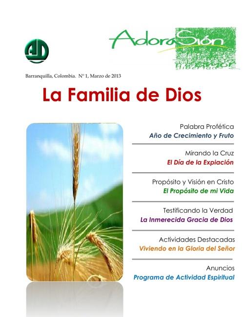Edición No.1 Revista Sion