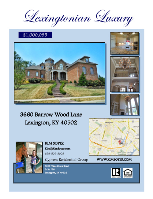 Barrow Wood brochure