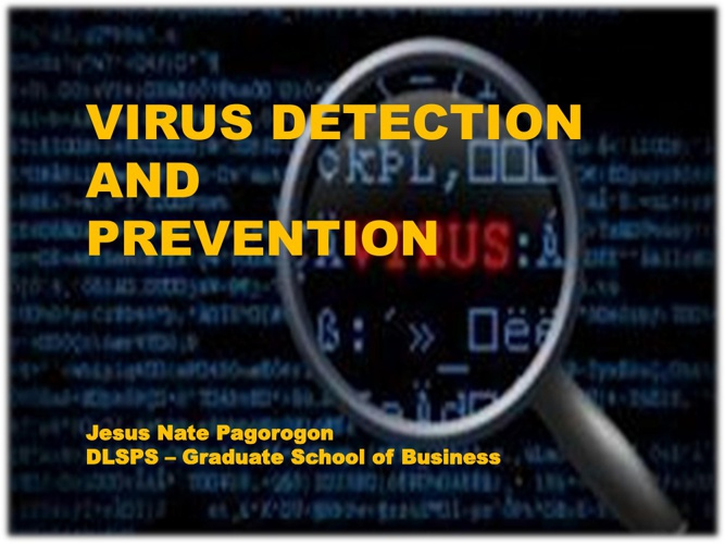Virus Detection & Prevention