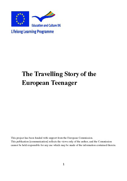 TRA.STO.TEEN book in German, Hungarian and French