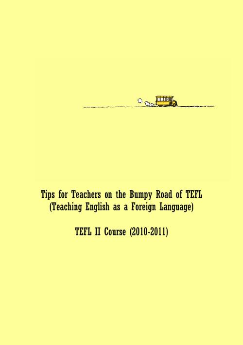TEFL II (Did. Ll. Anglesa II), UAB, 2010-11