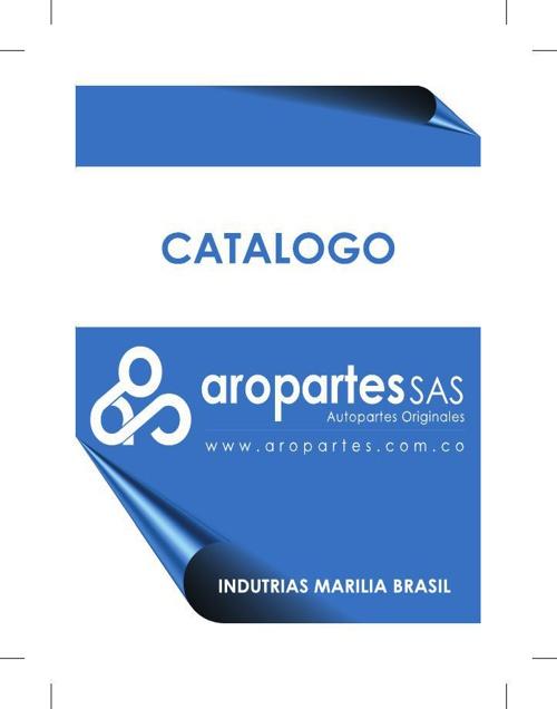 CATALOGO AROPARTESCURtodas
