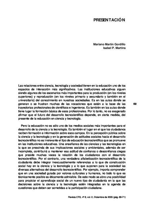 VOL02/N06 - Presentación dossier