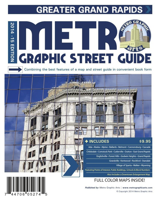 Sample Pages - GrandRapids 2014 Color Street Guide