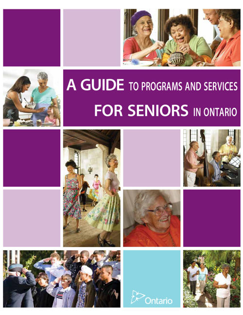 Programs & Services For Seniors in Ontario