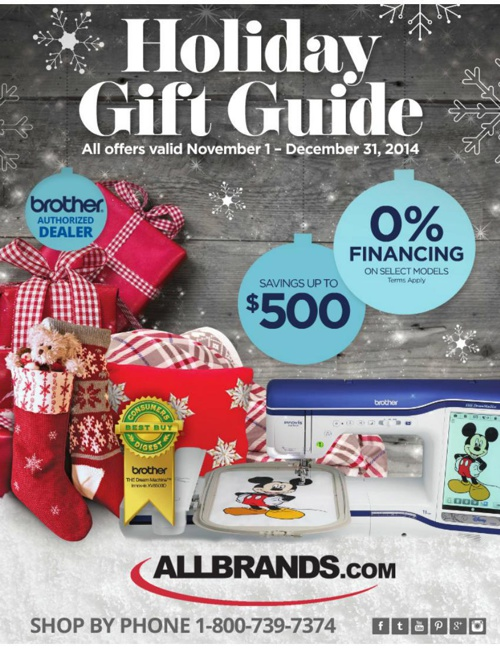 ALLBRANDS GIFT GUIDE 2014