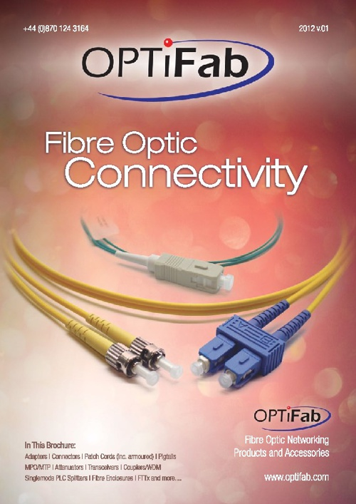 OPTiFab Connectivity Catalogue