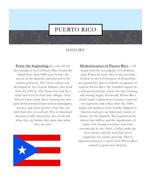 English country project