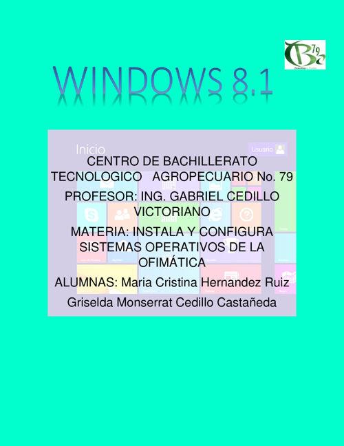 COMO INTALAR WINDOWS 8.1