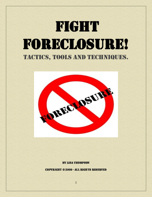 Homeowner's Guide to Avoiding Foreclosure