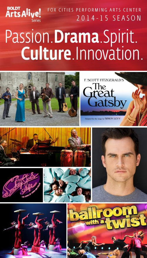 2014-15 Boldt Arts Alive Season Renewal Brochure