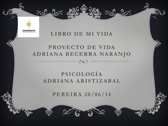 Copy of Libro de mi vida