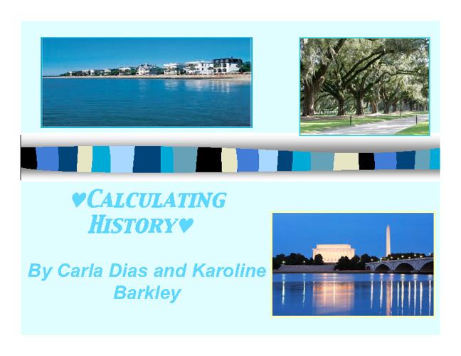 Calculating History