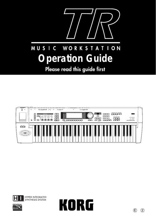 Triton Music Workstation Manual