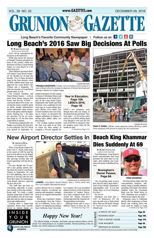 Grunion Gazette     December 29, 2016