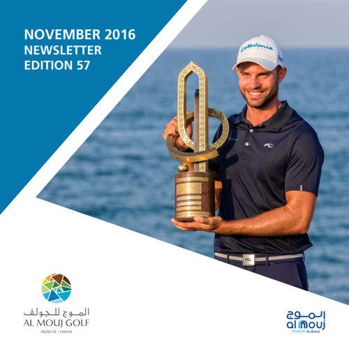Almouj Golf November 2016 Newsletter