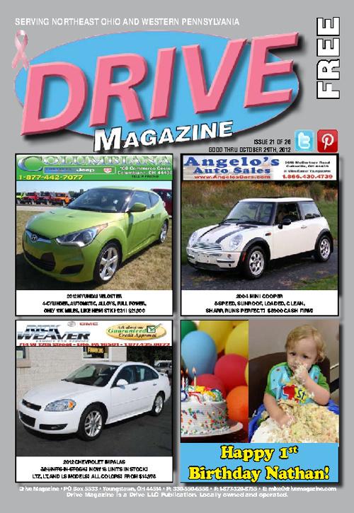 Drive Magazine October 2012