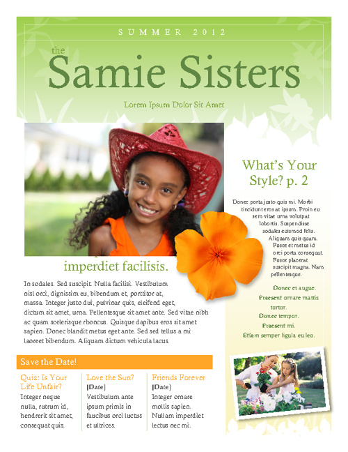 Samie Sisters working sample
